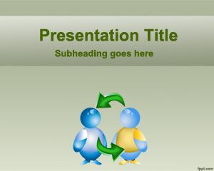 Link toCooperation powerpoint template
