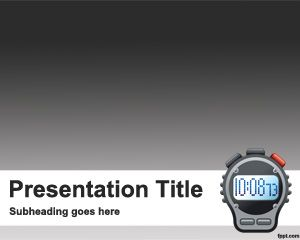 Free countdown PowerPoint template