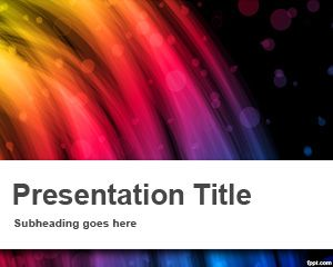 Flash PowerPoint Template