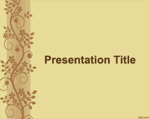 Plantilla PowerPoint para Lluvia de Ideas PPT Template