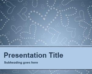 Plantilla PowerPoint de Cita a Ciegas PPT Template