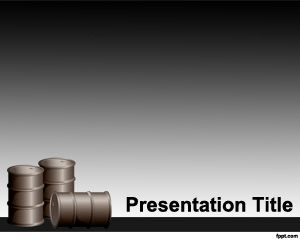Free Oil PowerPoint Templates