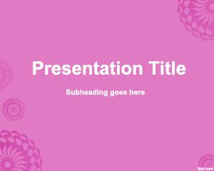 PowerPoint Rose Background