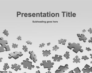 Puzzle Game PowerPoint Template PPT Template