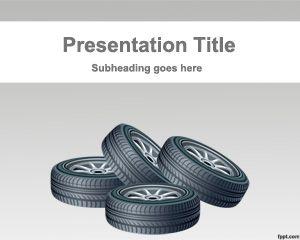 Plantillas PowerPoint de Ruedas Gratis