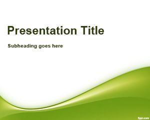 Writing PowerPoint Template
