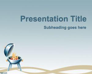 Plantilla PowerPoint de Parrillada PPT Template