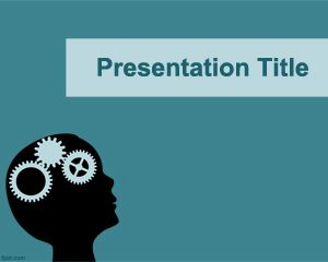 Brain Training PowerPoint template