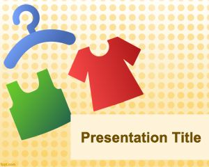 Plantilla PowerPoint de Vestimenta PPT Template