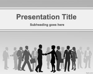 Link toCommerce powerpoint template