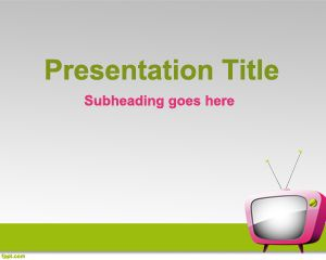 Apply a template to a new presentation - PowerPoint