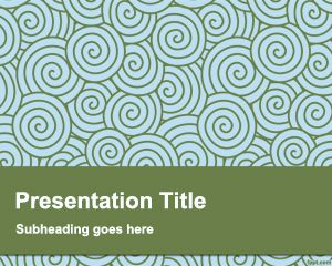 Plantilla PowerPoint Peculiar PPT Template