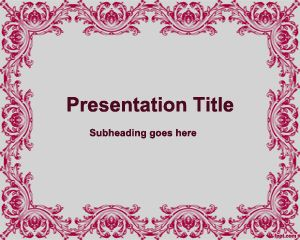Old Style PowerPoint Template PPT Template