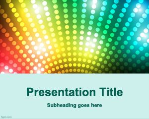 Game show PowerPoint Template PPT Template