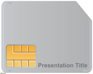 Plantilla PowerPoint de Chip PPT Template