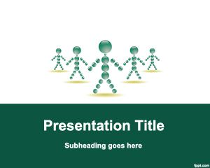 Plantilla PowerPoint de Personal de la Empresa PPT Template