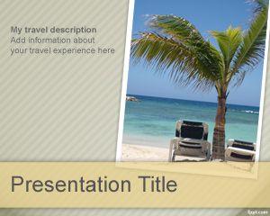 Plantilla PowerPoint de Viajes PPT Template