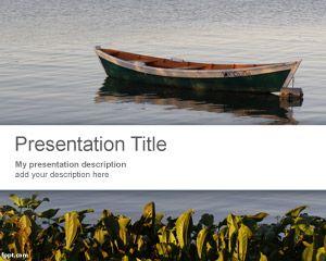 Plantilla PowerPoint de Bote