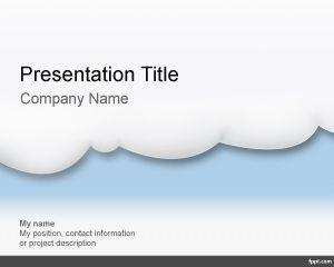 Plantilla PowerPoint de Computación en la Nube PPT Template