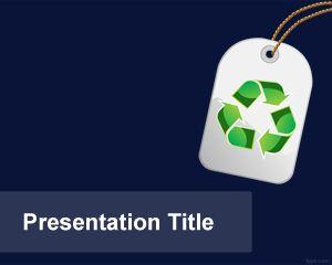 Plantilla PowerPoint de Etiqueta Ecológica PPT Template