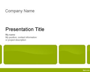 Link toExecutive training powerpoint template