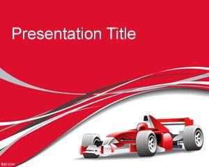 Plantilla PowerPoint de Fórmula 1