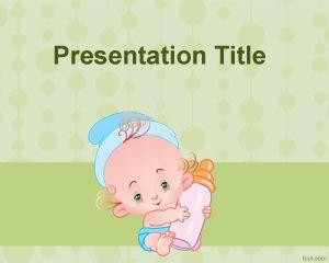 Plantilla PowerPoint de Alimentación para Bebés PPT Template