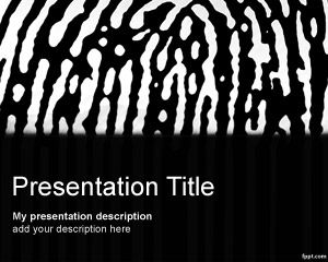 Fingerprint PowerPoint Template