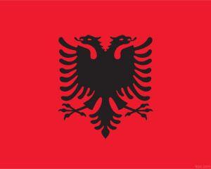 Plantilla PowerPoint de Albania