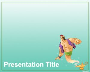 Plantilla PowerPoint de Genio PPT Template