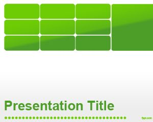 Green Business PowerPoint Template PPT Template