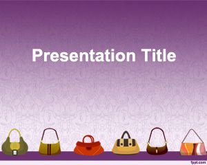 Plantilla PowerPoint de Carteras PPT Template