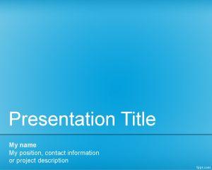 Plantilla PowerPoint de Departamento Informático PPT Template