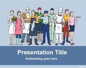 Plantilla PowerPoint del Día del Trabajador PPT Template