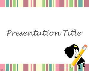 Plantilla PowerPoint para Juegos Educativos Gratis PPT Template