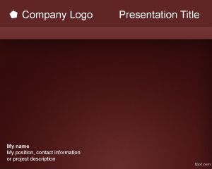 Plantilla PowerPoint de Menú PPT Template