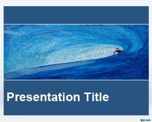 Plantilla PowerPoint de Deportes Acuáticos PPT Template