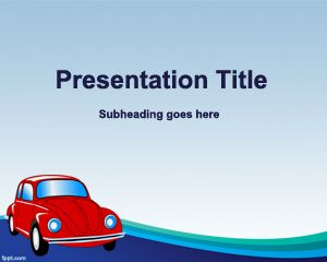 Old Car Insurance Powerpoint Template Ppt Template