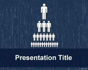 Link toOrganizational structure powerpoint template