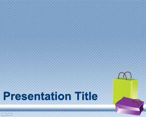Plantillas PowerPoint de Bolsas de Papel PPT Template