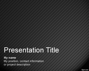 Pattern Ppt Template