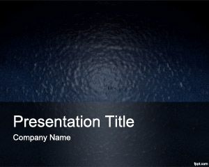 plastic powerpoint background template for presentations with raw material