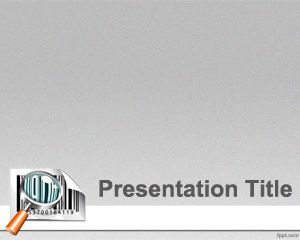 barcode powerpoint template