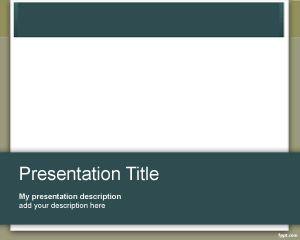 Plantilla PowerPoint para Consultoría PPT Template