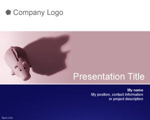 Link toSaving powerpoint template