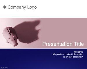 Plantilla PowerPoint de Ahorro PPT Template
