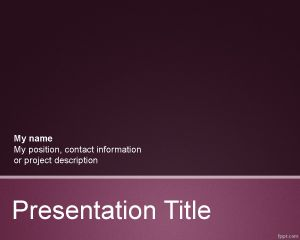 Scientific PowerPoint Template PPT Template