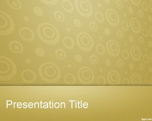 Diapositiva Powerpoint con Caracol PPT Template