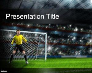 Tema de Fútbol para PowerPoint PPT Template