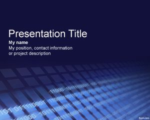 Software PowerPoint Template PPT Template